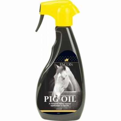 LINCOLN PIG OIL SPRAY-Nabłyszczacz i odżywka do sierści