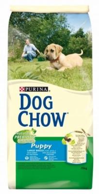 PURINA- DOG CHOW PUPPY LARGE BREED Dla szczeniąt ras dużych z KURCZAKIEM 15kg