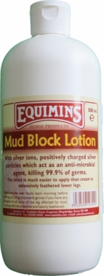 EQUIMINS Mud Block Lotion - innowacyjny balsam ze srebrem na grudę 500 ml