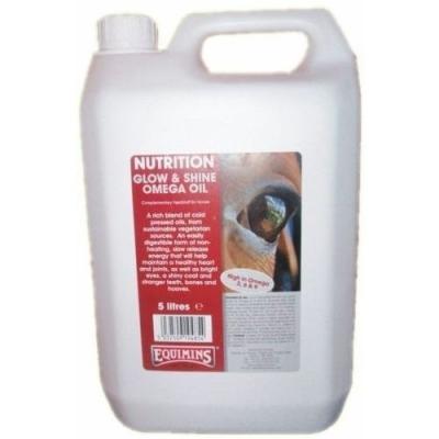EQUIMINS Omega Oil Mieszanka olei roślinnych o dużej zawartości kwasów omega 3,6 i 9 - 5L