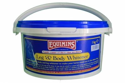 EQUIMINS Vanity Leg and Body Whitener - preparat wybielający do jasnej sierści 1 kg