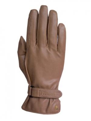 ROECKL Rękawiczki z materiału SUPREMA. Wygladają jak wykonane z najlepszej skóry. (powożenie) 3304-723