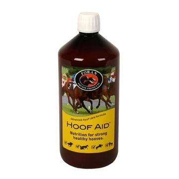 FORAN Hoof Aid Liquid - preparat niezbędny dla silnych i zdrowych kopyt konia 1 l