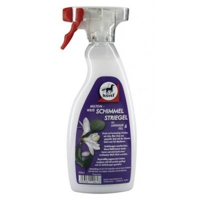 LEOVET Milton Weiss Schimmelstriegel - preparat czyszczący dla siwych koni 500 ml