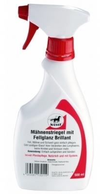 LEOVET Mähnenstriegel Brillant - odżywka do sierści, grzywy i ogona - brylantowy połysk 750 ml