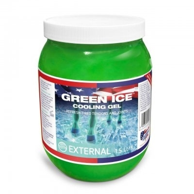 EQUINE AMERICA Green Ice Gel 1,5l