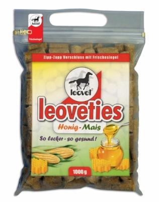 LEOVET Leoveties - Miód i kukurydza, 1kg