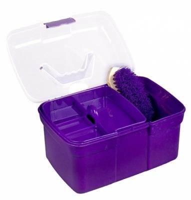 HORZE Skrzynka ze sprzętem do czyszczenia dla dzieci