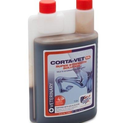 Equine America CORTA-VET HA SUPER STRENGTH SOLUTION 1L (zapas na 4 m-ce)