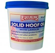 EQUIMINS Solid Hoof Oil with Lanolin - olej do końskich kopyt z lanoliną 500 g