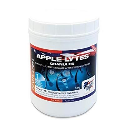 EQUINE AMERICA Apple Lytes - elektrolity uzupełniające zapotrzebowanie organizmu konia po wysiłku 1,8 kg