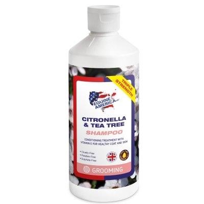 EQUINE AMERICA Citronella & T-Tree Shampoo with Conditioner 500 ml