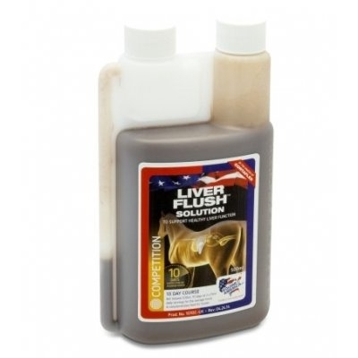 EQUINE AMERICA LIVER FLUSH SOLUTION 500 ml (zapas na 10 dni)