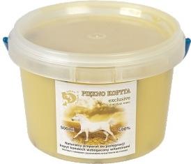 PIĘKNO KOPYTA -EXCLUSIVE Preparat do kopyt z tranem (łój wołowy, tran) - opakowanie 500ml