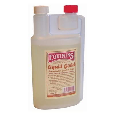 EQUIMINS Liquid Gold Concentrated Garlic Extract-Nalewka z czosnku - 1L