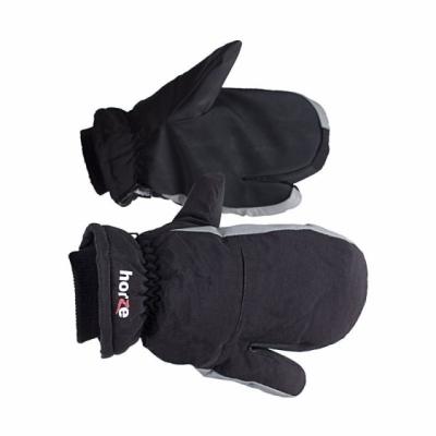 HORZE Podszywane trójpalczaste rękawiczki zimowe