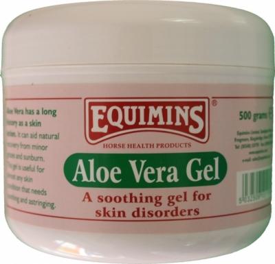 EQUIMINS Aloe Vera Gel - żel z Aloesem, przyspieszający gojenie ran 500 gr