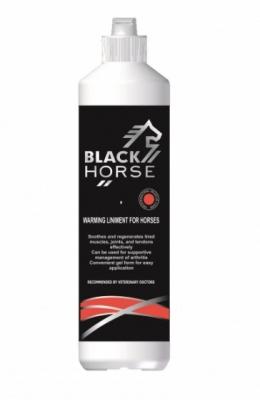 BLACK HORSE Rozgrzewająca wcierka dla koni