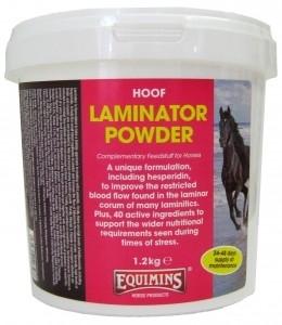 EQUIMINS Laminator Supplement Powder -Mieszanka paszowa w proszku, wspomagający leczenie ochwatu u koni 1.2kg