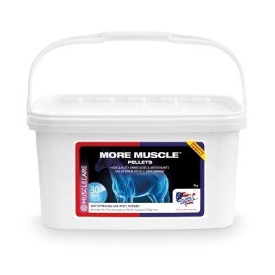 EQUINE AMERICA More Muscle Pellets 3kg ( zapas na 1 m-c)
