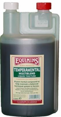EQUIMINS Temperamental Liquid Tincture - wyciąg z ziół wpływający na równowagę układu nerwowego i hormonalnego 1000 ml