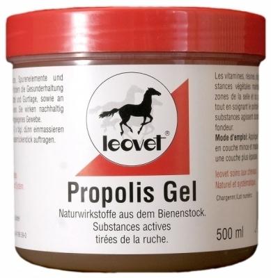 LEOVET Propolis Gel - żel propolisowy działający przeciwzapalnie, znieczulająco. Regeneruje tkankę 500 ml