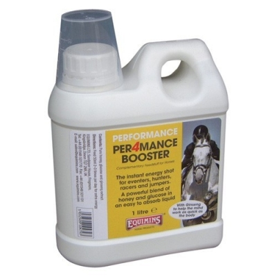 Equimins Per4mance Booster (Extra Energy) Premiks w płynie, zapewniający dodatkową porcję energii w czasie zawodów -1L