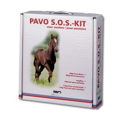 PAVO S.O.S Kit - zawiera pokarm potrzebny na pierwsze kilka dni życia źrebięcia