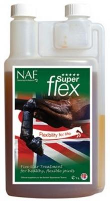 NAF Five Stars Superflex Liquid - preparat wzmacniający i utrzymujący w dobrej kondycji stawy konia 1 l