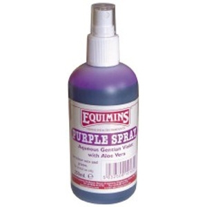 EQUIMINS Purple Spray - środek do dezynfekcji ran w sprayu 250 ml
