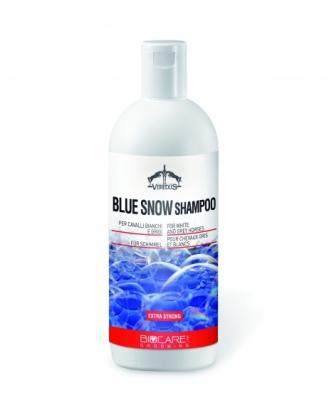 VEREDUS Blue Snow Shampoo - szampon dla siwków i koni o jasnej sierści 500 ml