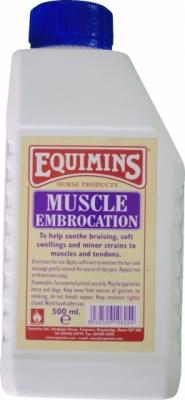 EQUIMINS Muscle Embrocation - wcierka regenerująca mięśnie po wysiłku 500 ml
