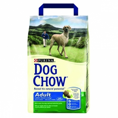 Purina Dog Chow Adult Large Breed z indykiem 3 kg