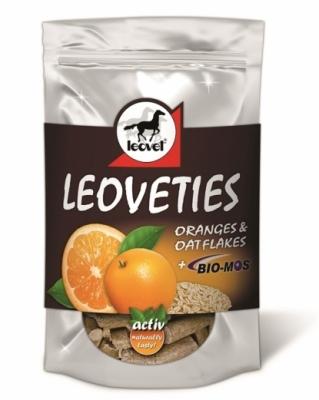 Leoveties Tummy Ticker - POMARAŃCZA & PŁATKI OWSIANE + BIO-MOS 1000g smakołyki