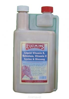 EQUIMINS Vitamin E & Selenium Liquid 1 l