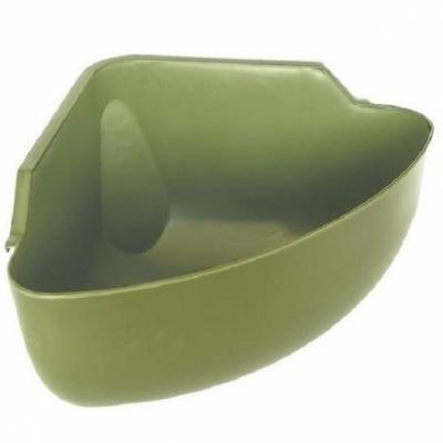 Karmidło narożne zielone, poj. 31 l