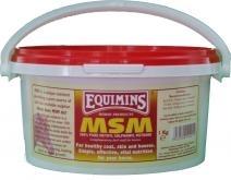 EQUIMINS MSM (Methyl Sulphonyl Methane) - dodatek paszowy wspomagający układ kostno ? stawowy 1 kg
