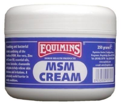EQUIMINS MSM Cream - krem z MSM, działa regenerująco na skórę 250 g