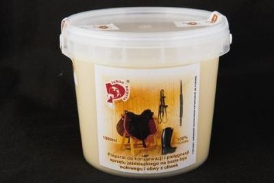 PIĘKNO KOPYTA, preparat do pielęgnacji skóry na bazie łoju i oliwy z oliwek, 1000ml