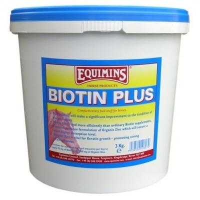 EQUIMINS Biotin Plus - wzmocniona biotyna dla koni 1 kg