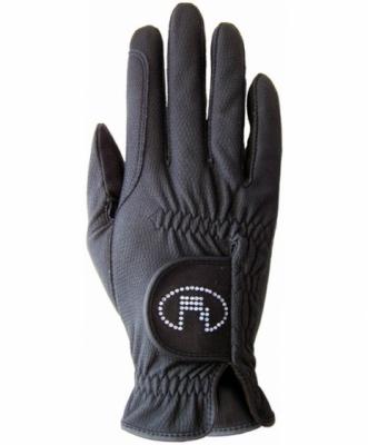 ROECKL Eleganckie rękawiczki z kryształkami Swarovskiego 3301-308