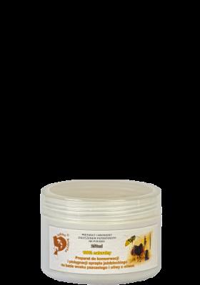 PIĘKNO KOPYTA, preparat do pielęgnacji skóry na bazie wosku pszczelego i oliwy z oliwek, 250ml