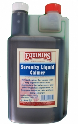 EQUIMINS Serenity Liquid Calming Supplement - preparat uspokajający w płynie 1000 ml