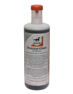 LEOVET Bronchial Elixier - poprawa odporności oskrzeli i witalności 1 l