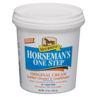 ABSORBINE Horseman's One Step Cleaner & Conditioner - środek do pielęgnacji wyrobów ze skóry 444 ml