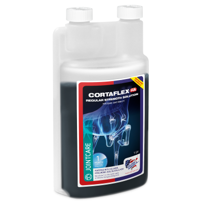 EQUINE AMERICA Cortaflex HA Regular Strenght Solution 1l (zapas na 1 m-c)