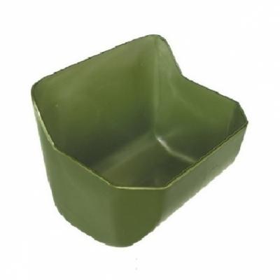 Karmidło prostokątne zielone, poj. 15 l