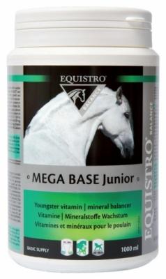 EQUISTRO Mega Base Junior - preparat wspomagający gospodarkę witaminowo-mineralną źrebiąt 1000 ml