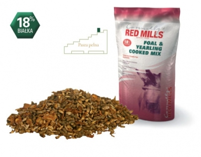 RED MILLS Foal & Yearling Cooked Mix