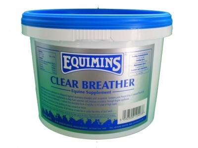 EQUIMINS Clear Breather - preparat wspomagająco - oczyszczający układ oddechowy 1,4 kg